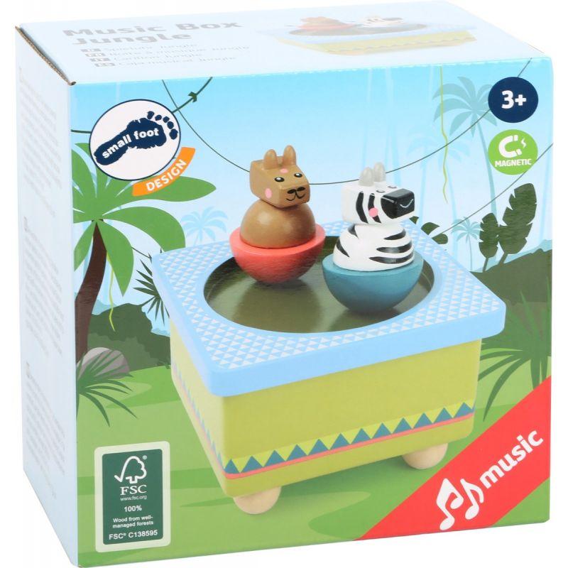 caja musical para niños
