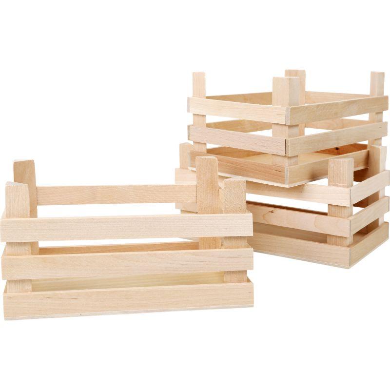 Cajas de madera Juguete