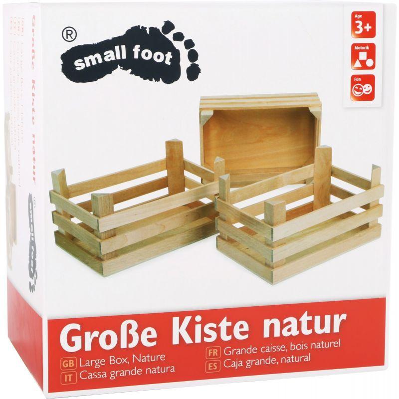 Cajas de madera Juguete small foot company