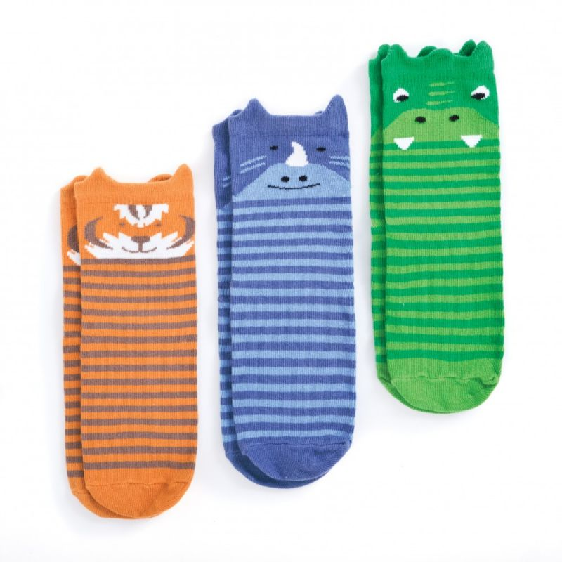Calcetines Antideslizantes Animales de la Jungla