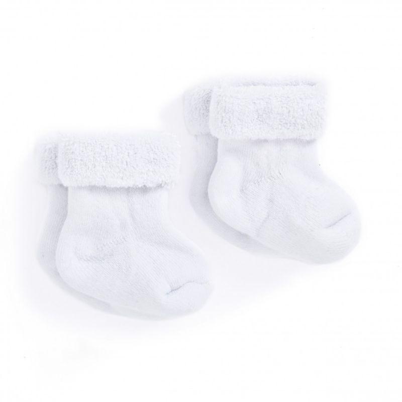 Calcetines blancos para recién nacido