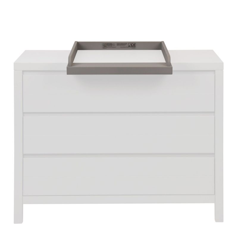 Cambiador extensión para Cómoda Stripes - Quax color griffin grey