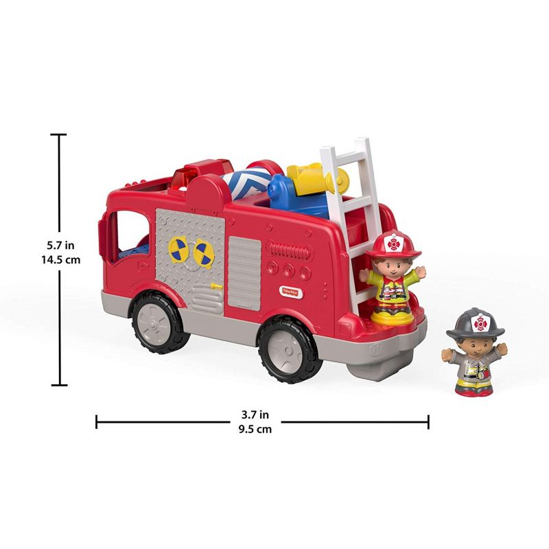 Camión de Bomberos Fisher Price Little People