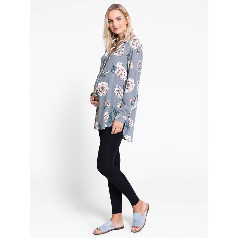 camisa premama floral