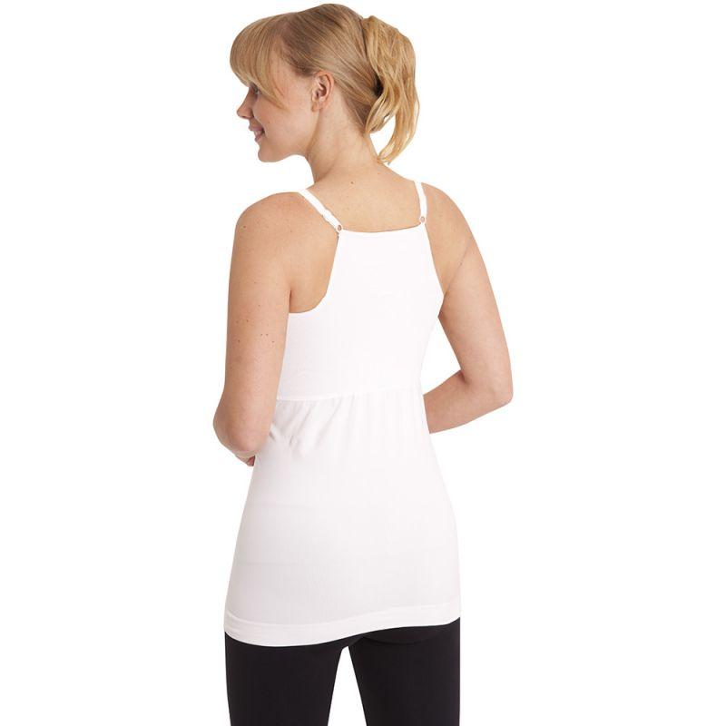 Camiseta Faja Postparto y Reductora Blanca