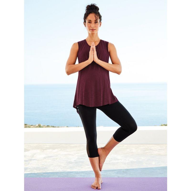 Camiseta de embarazo para clases de Yoga
