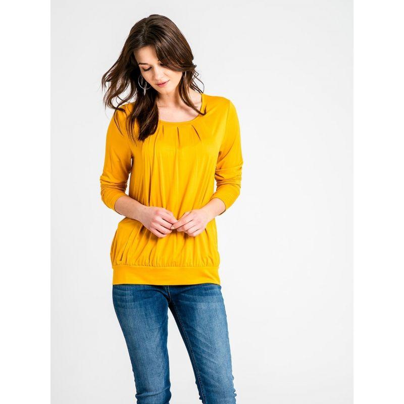 Camiseta de Embarazo y Lactancia ocre
