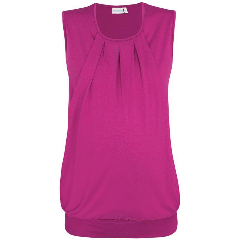 Camiseta Premamá y Lactancia en color Cassis