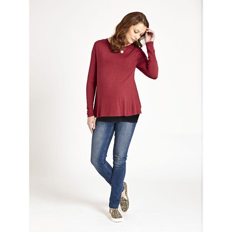 Camiseta Embarazo y Lactancia Doble Tejido