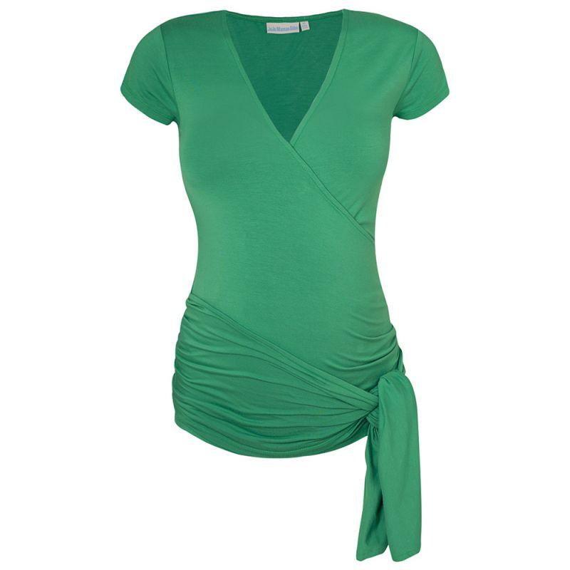 Camiseta Premamá Corta Verde