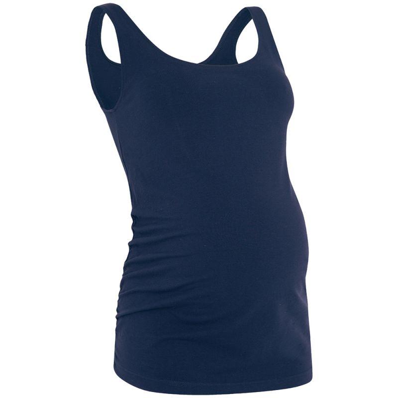 Camiseta Premamá de Tirantes Azul