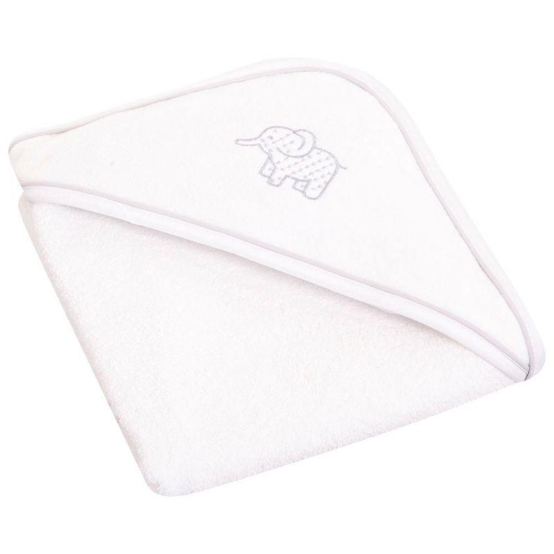 Capa de Baño para Bebé - Color Gris Perla