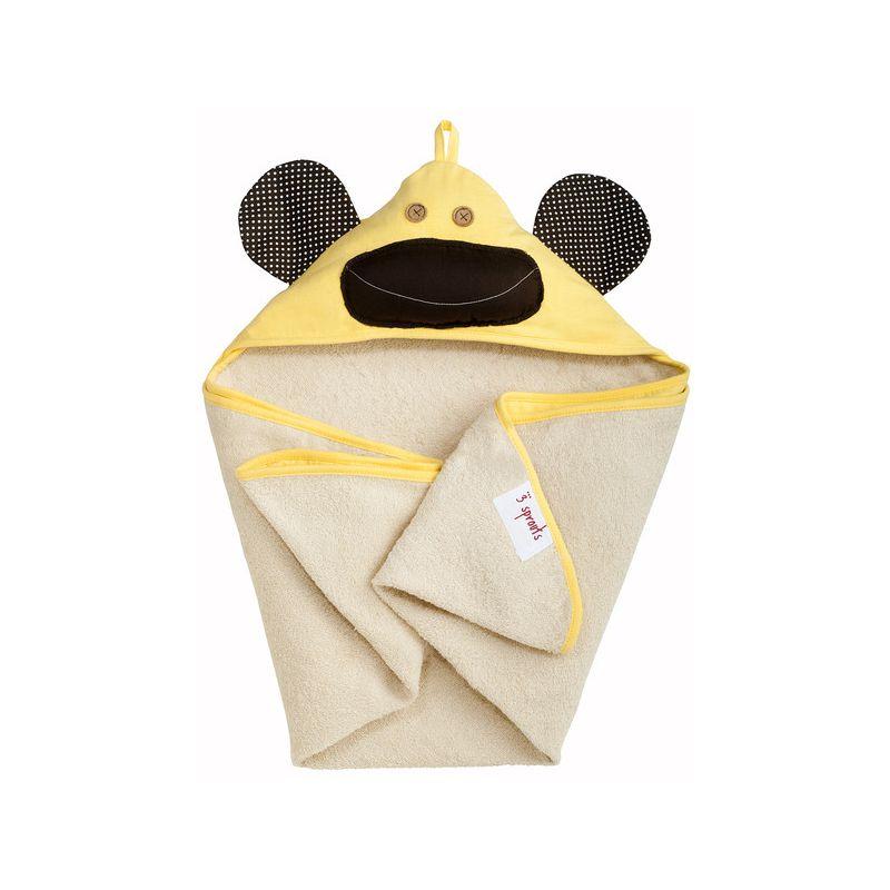 Capa de Baño Mono Amarillo de la marca 3 Sprouds