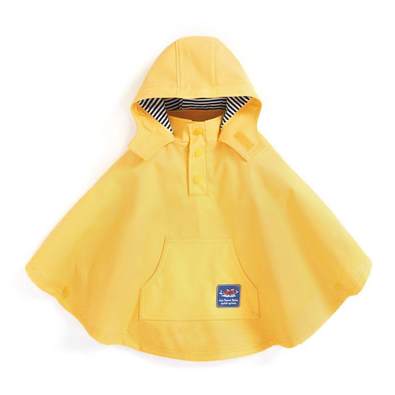 Capa Impermeable Amarilla para Niños