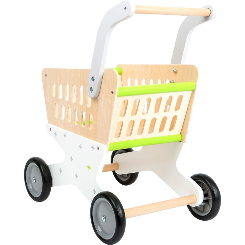 Carrito de la compra - Juguete de madera para niños