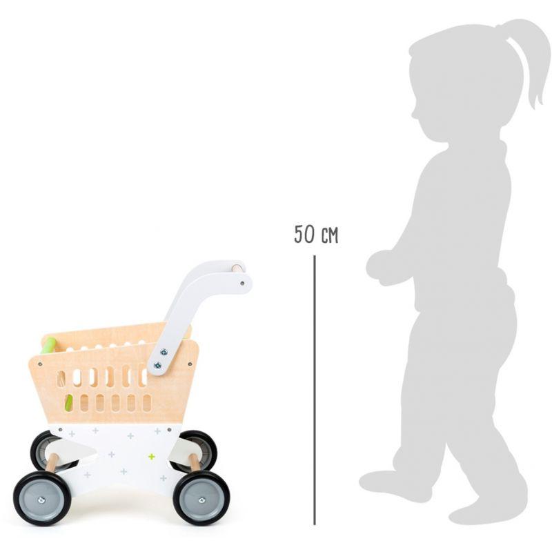 dimensiones Carrito de la compra small foot company