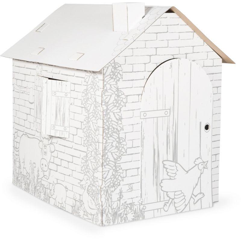 Casa de Juegos de cartón