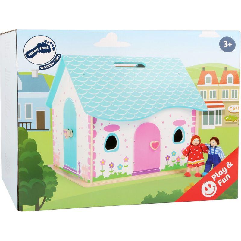 Casa de muñecas de madera Abrir y Cerrar - Legler