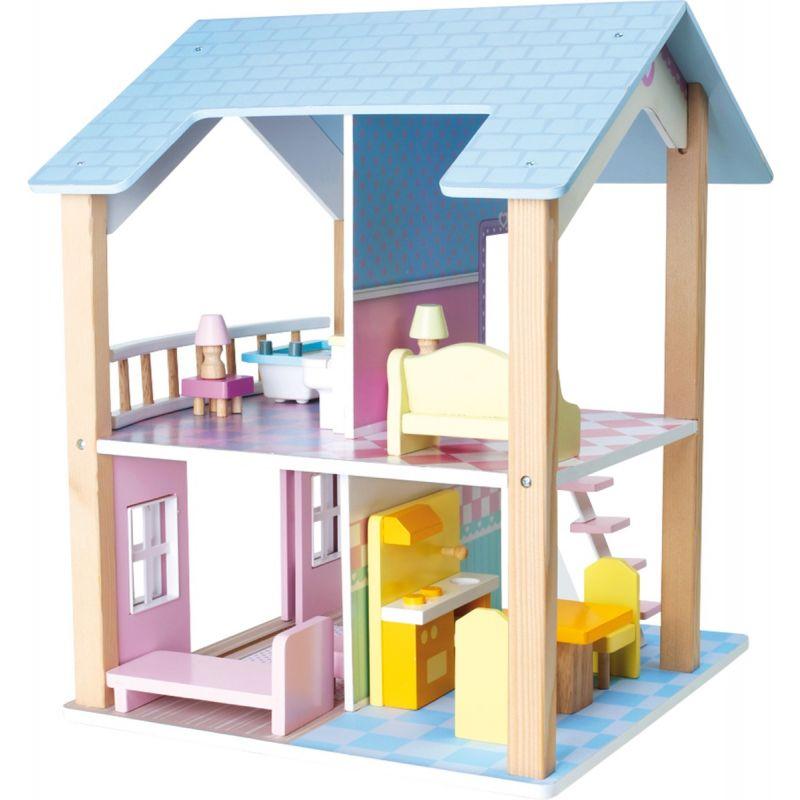 Casa de Muñecas de 2 pisos Giratoria - Legler