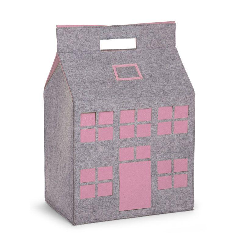 Casa Almacenaje rosa Juguetes - Childhome