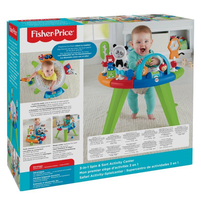 Centro de Actividades 3 en 1 Spin - Fisher Price