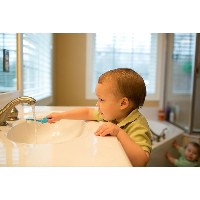 Cepillo de Dientes azul para Bebé - Dr Brown´s