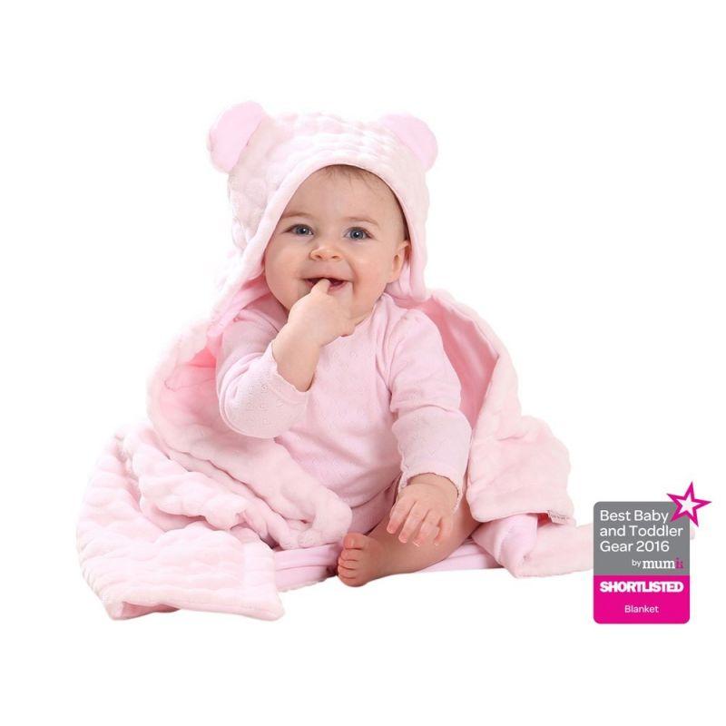 toalla bebes con orejas