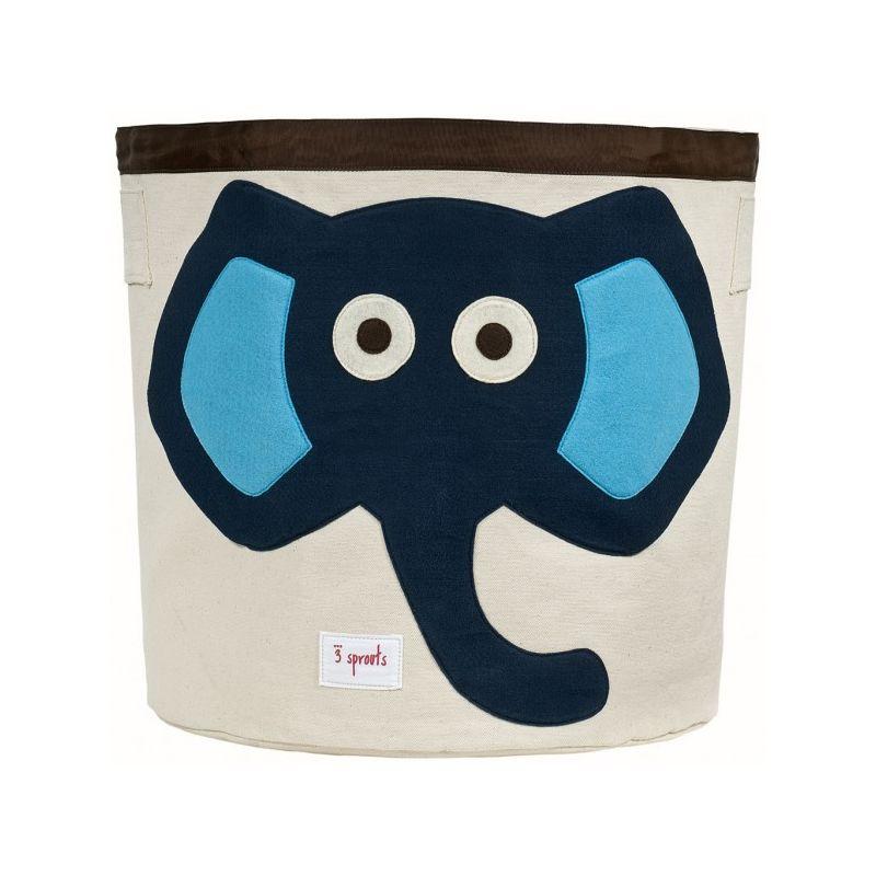 Cesta para Juguetes Elefante Azul de 3 Sprouts
