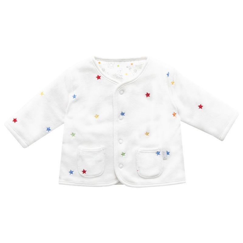 Chaqueta Bebés Bordada con Estrellas