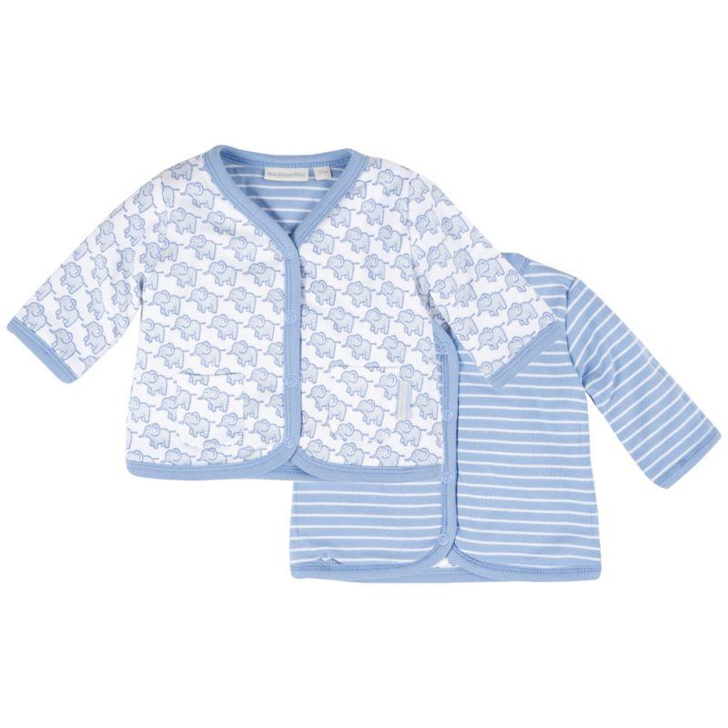 Chaqueta Reversible azul para Bebés