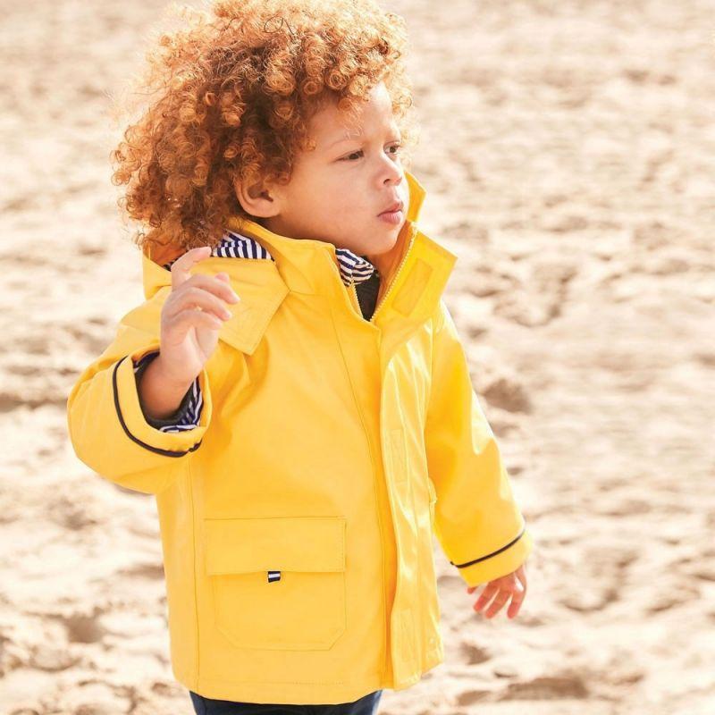 chubasquero amarillo niño