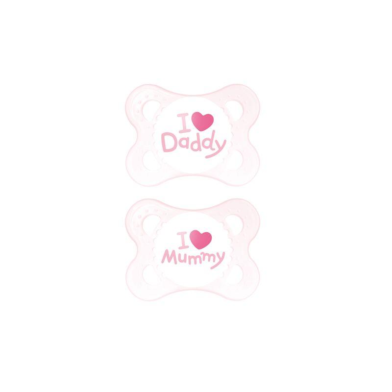 Chupete Mam Love 0+ meses rosa