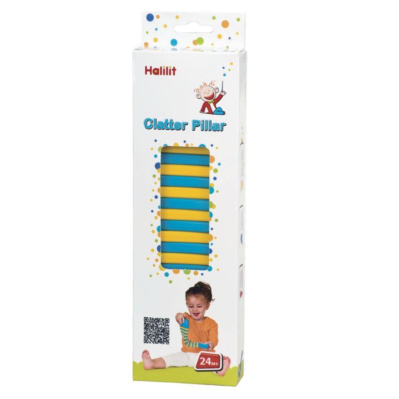 Instrumento Musical para Bebés Clatter-pillar - Halilit