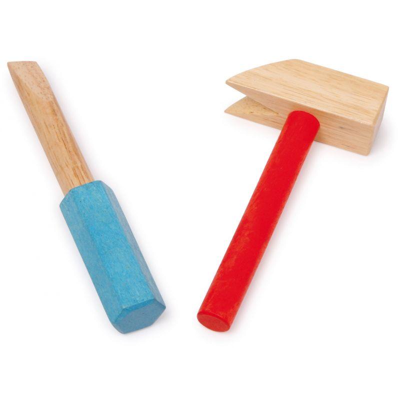 martillo de madera