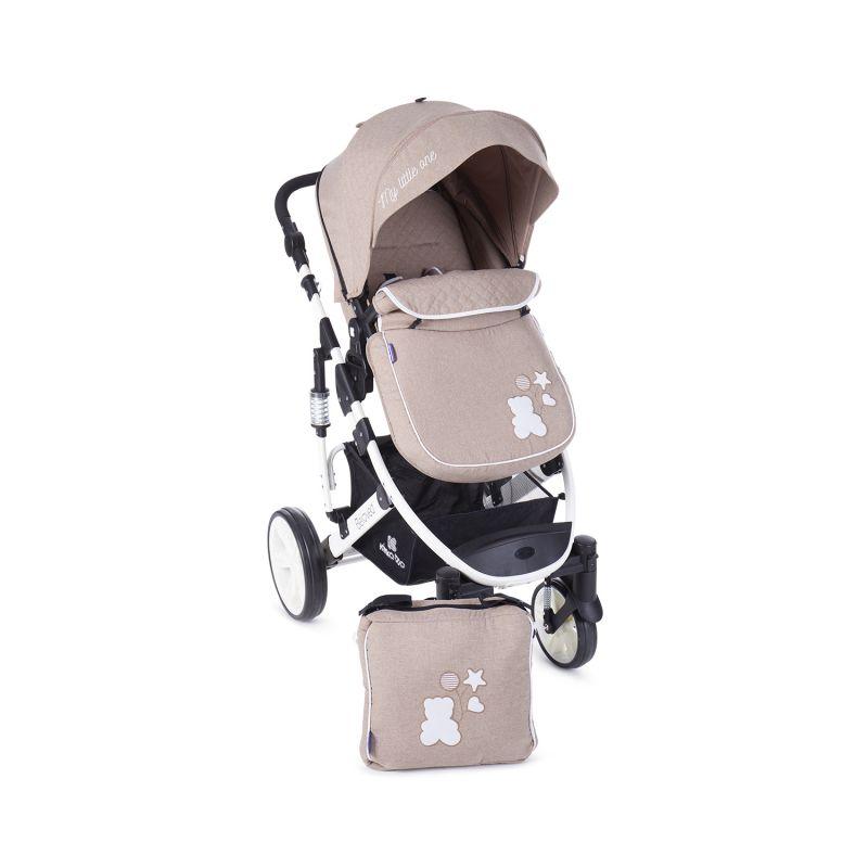 Cochecito de Bebé 2 en 1 Beloved - Kikkaboo beig