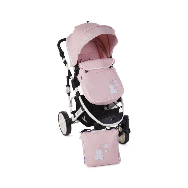 Cochecito de Bebé 2 en 1 Beloved - Kikkaboo rosa