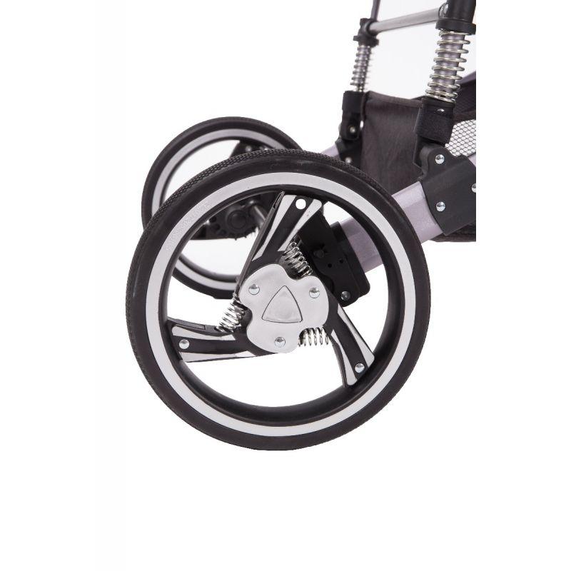 ruedas Cochecito de Bebé 3 en 1 D'Ora Kikkaboo gris
