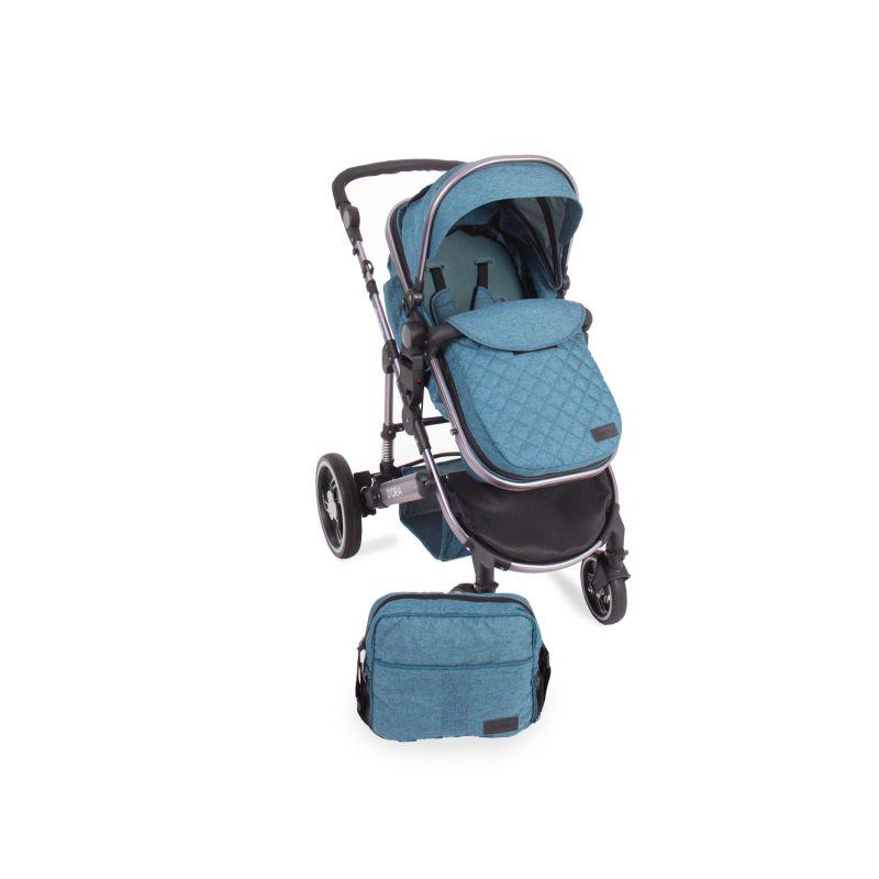 Cochecito de Bebé 3 en 1 D'Ora Kikkaboo azul