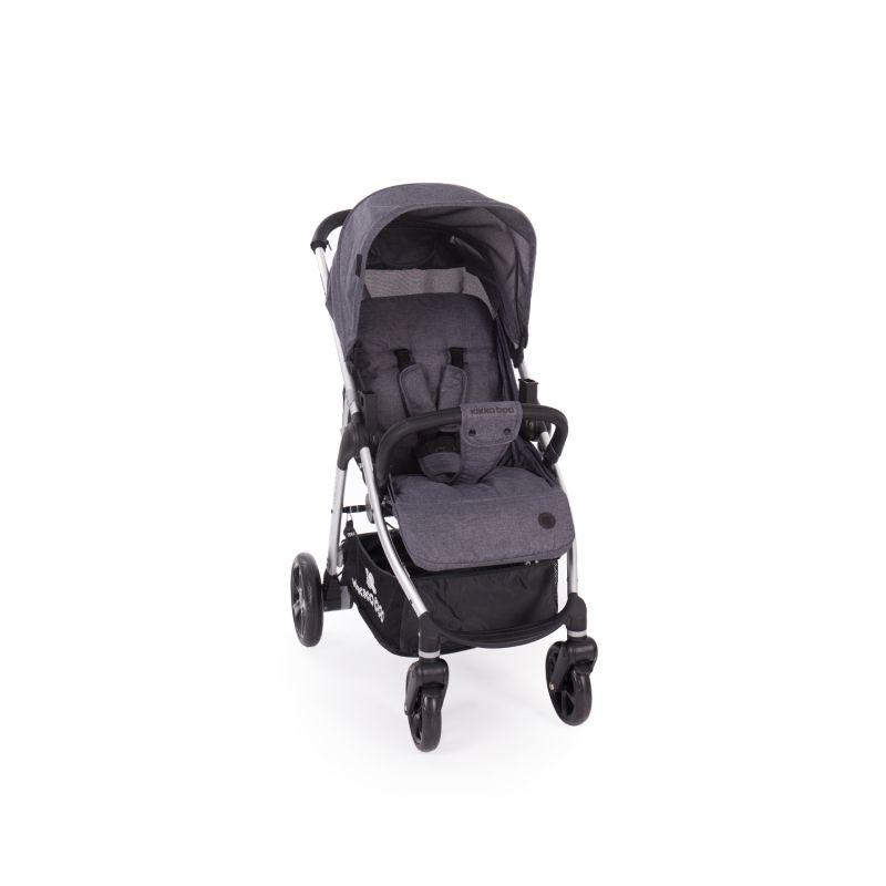 Cochecito de Bebé 3 en 1 Trinity Kikkaboo gris