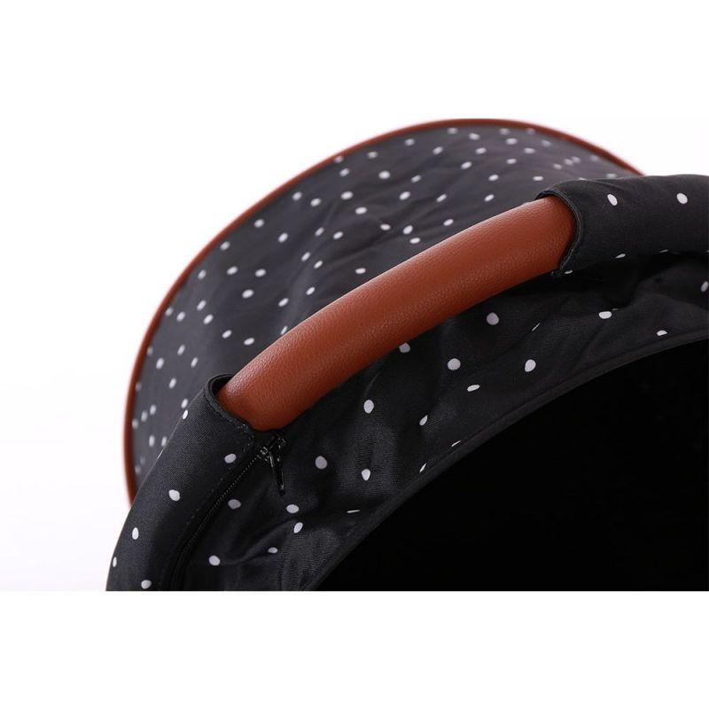 Silla de Paseo Combinada 2 en 1 Dotty negro