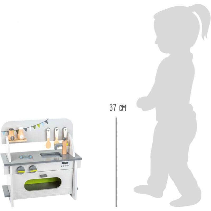 dimensiones Cocina Compacta Infantil - Legler
