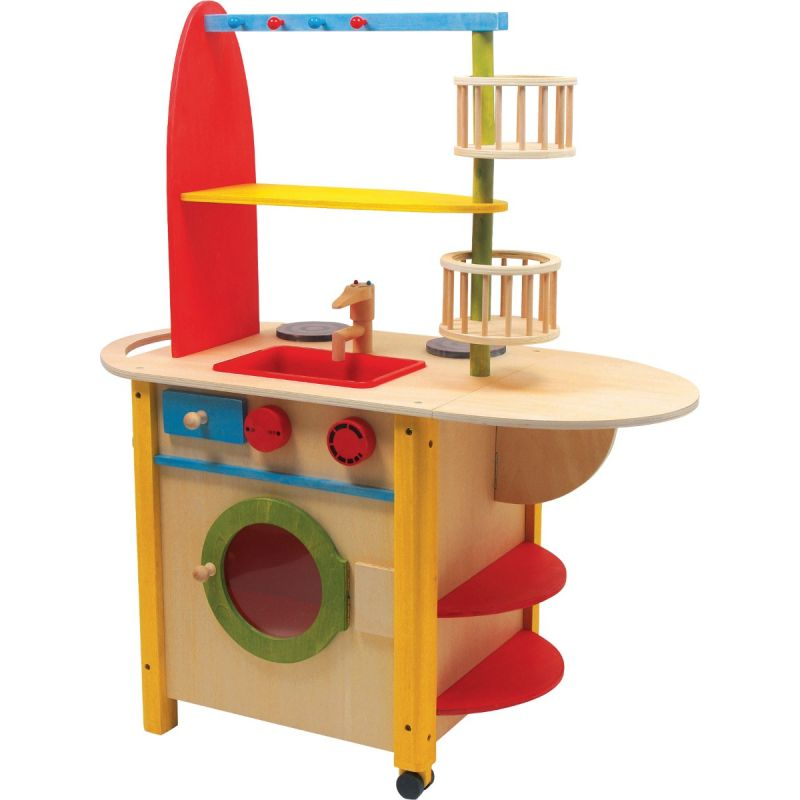 Cocina de madera All in one Deluxe