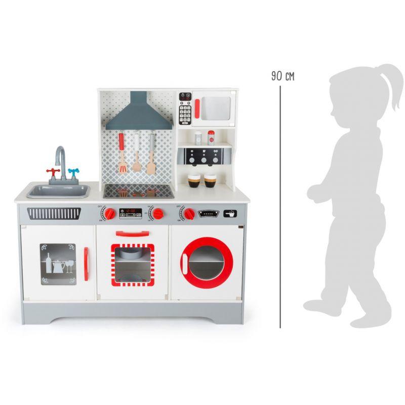 dimensiones Cocina de Madera Premium para Niños - Legler