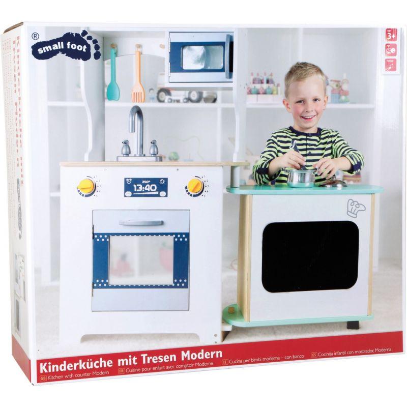 Cocinita infantil de madera con barra - Legler
