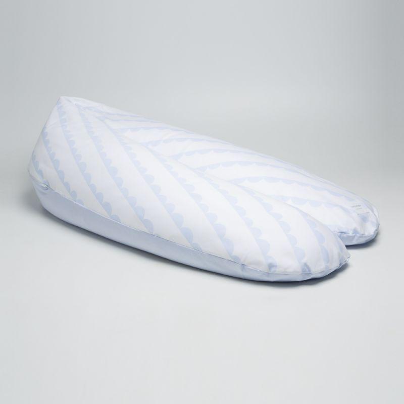 Cojín Maternidad y Lactancia XL azul claro - Bonjourbebe