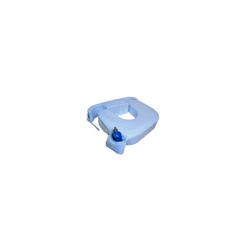Detalle del Cojín de Lactancia Gemelar MyBrestFriend en color Azul