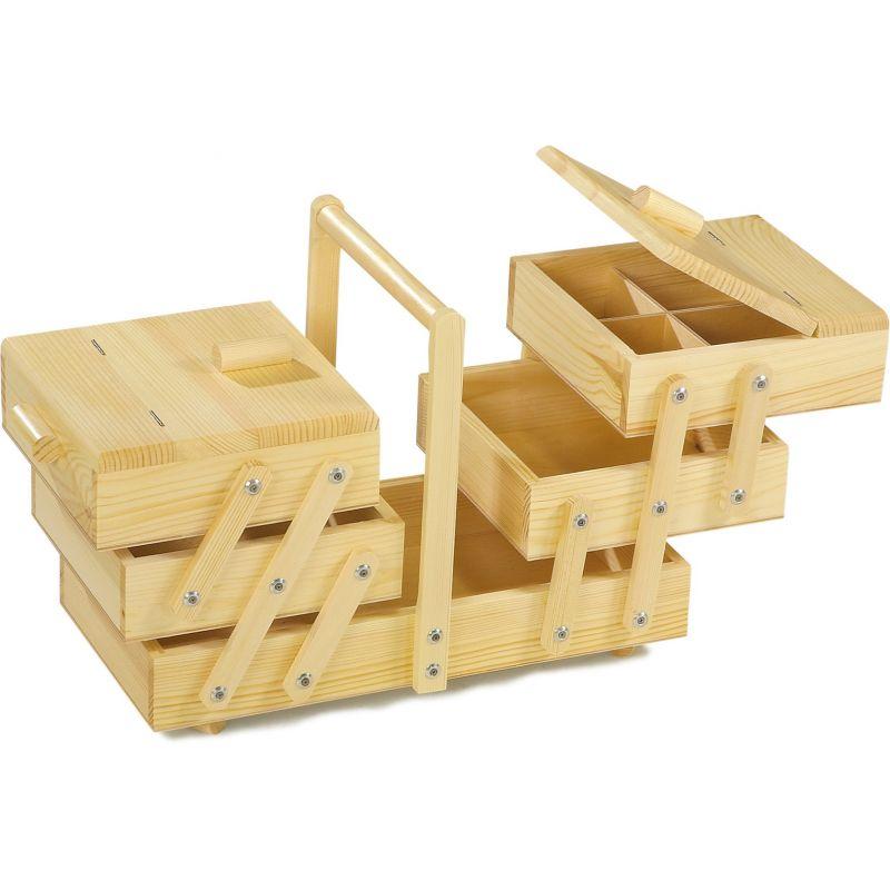 Costurero de madera - 42 x 22 x 30 cm