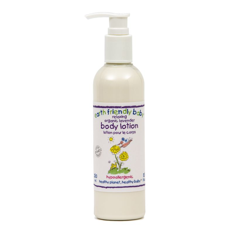 Crema Corporal para Bebé Lavanda - Earth Friendly Baby