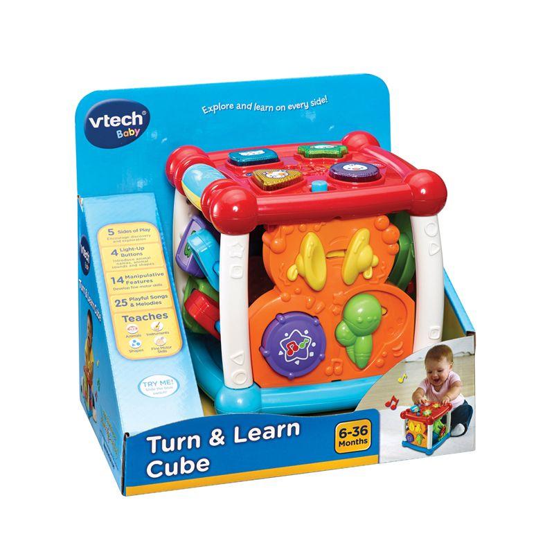 Cubo para girar y aprender Vtech