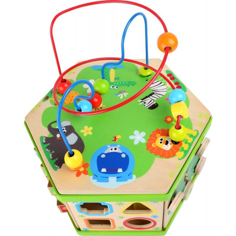 Cubo de motricidad Safari - Legler